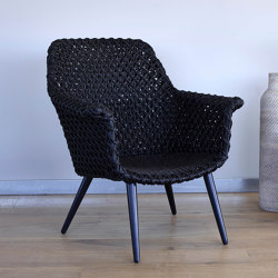 Athina Lounge Chair - rattan | Armchairs | MARY&