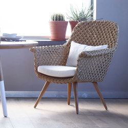 Athina Lounge Chair - cord | Poltrone | MARY&