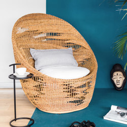 Atlas Lounge Chair - rattan | Sillones | MARY&