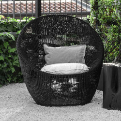 Atlas Lounge Chair - rattan | Armchairs | MARY&
