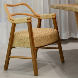 Float Armchair - natural | Chairs | MARY&