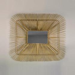 Mask Mirror - brass | Mirrors | MARY&