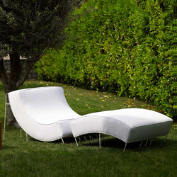 Milano Zig-Zag Lounger | Chaise longues | MARY&