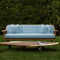 Milano Nest Lounge Set - teak | Sofas | MARY&