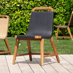 Milano Side Chair with straps | Chairs | MARY&