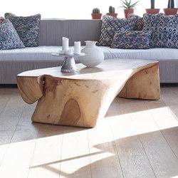 Minerva Lounge Set - rope/teak | Coffee tables | MARY&