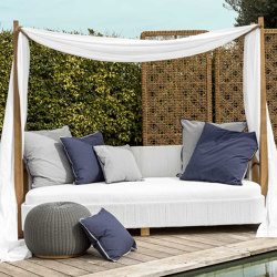 Minerva Daybed - synthetic teak | Day beds / Lounger | MARY&