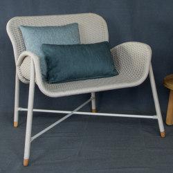 Rain Armchair - rope/aluminium | Sessel | MARY&
