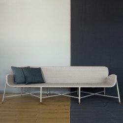 Rain Lounge Sofa - rope/aluminium | Sofás | MARY&