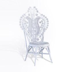 Rattan Curli Side Chair | Sillas | MARY&