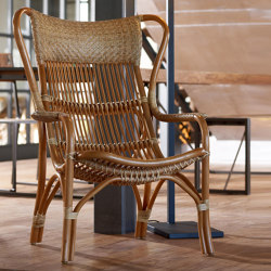 Rattan Nenek Armchair - natural | Sessel | MARY&