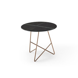 Ermione 1 Vetro-Marmo | Tables d'appoint | MEMEDESIGN