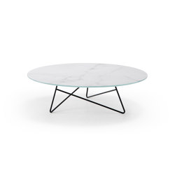 Ermione 1 Vetro-Marmo | Tables basses | MEMEDESIGN