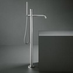 Hohe Durchfluss freistehende Badewannenarmatur mit Handbraus kit | Badewannenarmaturen | Quadrodesign