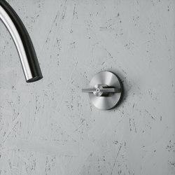 Valvola01 | Wall mounted hydroprogressive mixer | Bathroom taps accessories | Quadrodesign