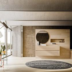 Bathroom project | 5 mm La Maddalena | Wash basins | Itlas