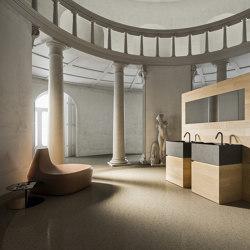 Bathroom project | 5 mm Murano | Wash basins | Itlas