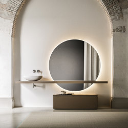 Bathroom project | L'essenziale Berlino | Bath side boards | Itlas
