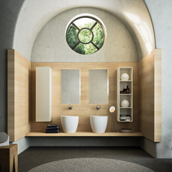 Bathroom project | L'essenziale Mantova | Bath shelving | Itlas