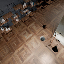 Panel pattern 111 Walnut | Wood flooring | Itlas