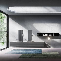 Bathroom project | L'Essenziale Roma | Vanity units | Itlas