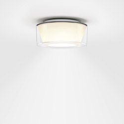 CURLING Ceiling | shade acrylic glass, reflector conical opal | Ceiling lights | serien.lighting
