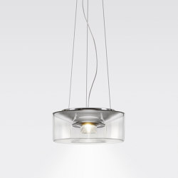 CURLING Suspension Rope | shade acrylic glass | Suspensions | serien.lighting