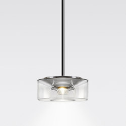 CURLING Suspension Tube | shade acrylic glass | Suspensions | serien.lighting