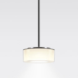 CURLING Suspension Tube | shade acrylic glass, reflector cylindrical opal | Suspensions | serien.lighting