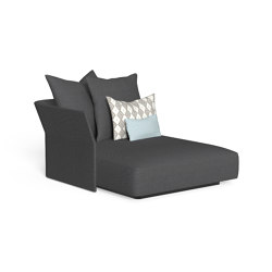 Cliff | Sofa lounge xl dx backrest fabric | Modular seating elements | Talenti