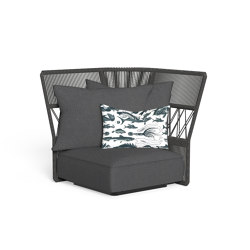 Cliff Dèco | Sofa corner backrest rope | Fauteuils | Talenti