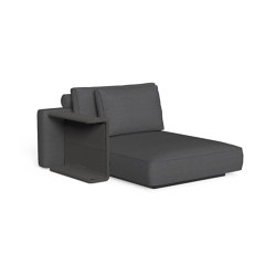 Cliff Dèco | Sofa lounge xl dx backrest fabric | Modular seating elements | Talenti