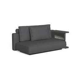 Cliff Dèco | Sofa sx backrest fabric | Sofas | Talenti