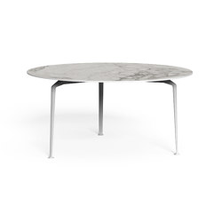 Cruise Alu | Round dining table D 150 | Tables de repas | Talenti