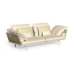Cruise Alu | Sofa 3 seater | Canapés | Talenti