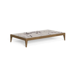 Cruise Teak | Coffee table 160x90 | Coffee tables | Talenti
