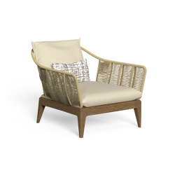 Cruise Teak | Living armchair | Sessel | Talenti