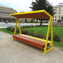 woody solar | Solar bench | Benches | mmcité
