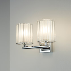 Flute Wall Light Double IP44 | Lámparas de pared | Tom Kirk Lighting
