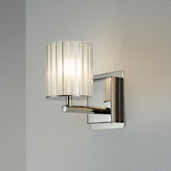 Flute Wall Light ul nickel | Lámparas de pared | Tom Kirk Lighting