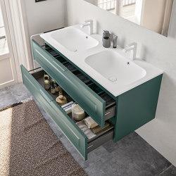 Ceramic washbasin Duna | Wash basins | Berloni Bagno