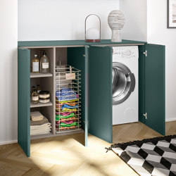 Suite Laundry | Laundry furniture collection | Cabinets | Berloni Bagno