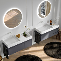 Piani | 08 Furniture collection | Vanity units | Berloni Bagno