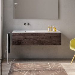 Piani | 22 Furniture collection | Vanity units | Berloni Bagno