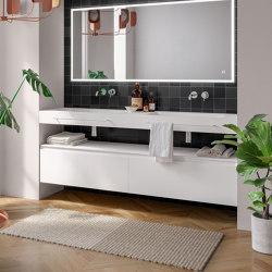 Piani | 25 Furniture collection | Vanity units | Berloni Bagno