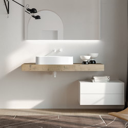 Piani | 28 Furniture collection | Vanity units | Berloni Bagno