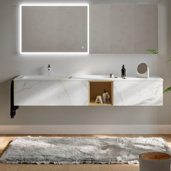 Piani | 38 Furniture collection | Vanity units | Berloni Bagno