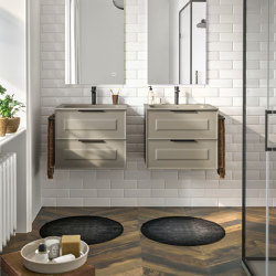 Suite Vintage | Vintage furniture collection | Vanity units | Berloni Bagno