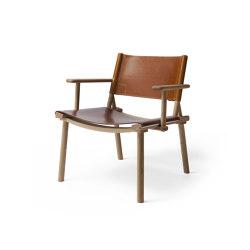 12 Designs For Nature | December Lounge, oak-cognac | Armchairs | Nikari