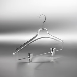 Aurora Collection | Camicia Plexiglass Hanger | Cintres | Industrie Toscanini